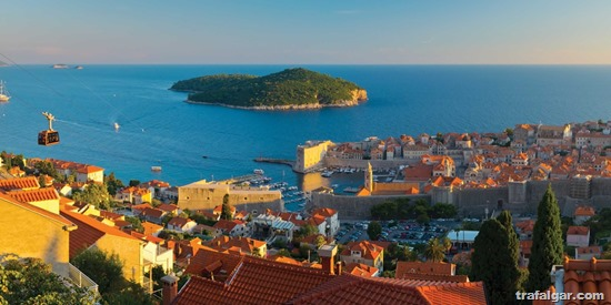 croatia tours view of dubrovnik l ge