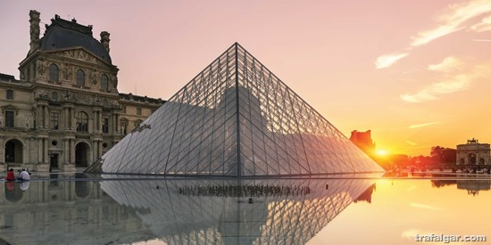 france tours paris the louvre sunset l ge