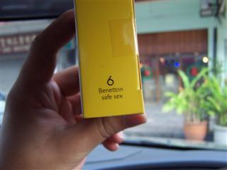 UCB Condom box