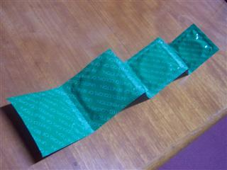 Green wrapping