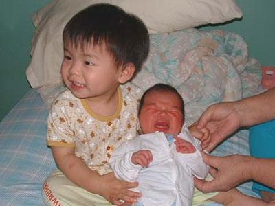 Jayden and Kirsten