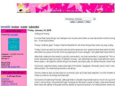 Kimberley's Blog
