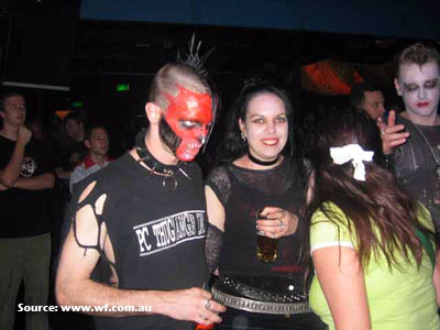 Club full of Heavy Metal Fans