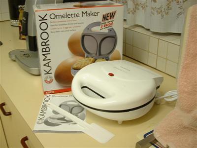 Omelette Maker Box Shot