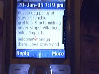 Stupid SMS
