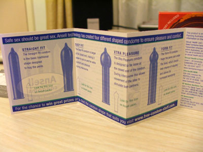 Ansell vibe4u Vibrating Condom - Catalogue