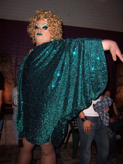 7 feet tall drag queen