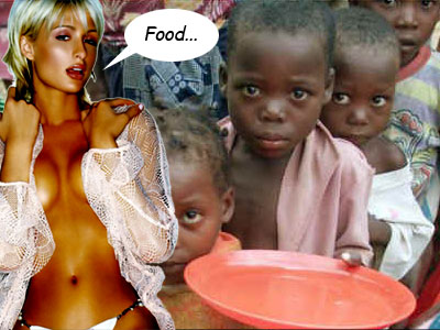 Feed the Children and Paris Hilton
