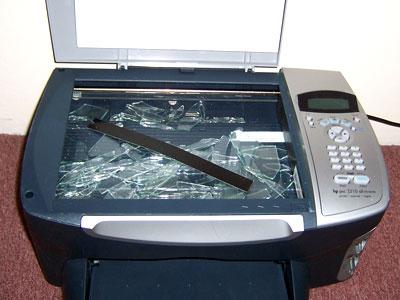 HP Printer broken