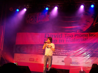 David Tao in Kuching