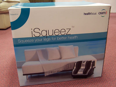 Osim iSqueez foot massager