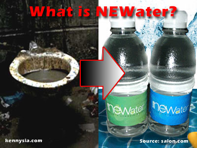 Where did NEWater come from?