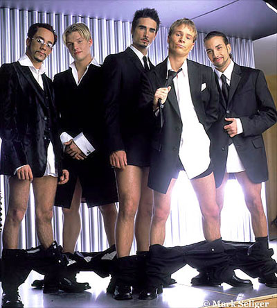 Backstreet Boys are so gay