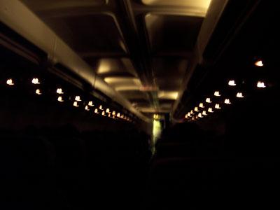 Lights dimmed