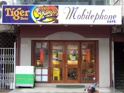 Mobilephone cafe
