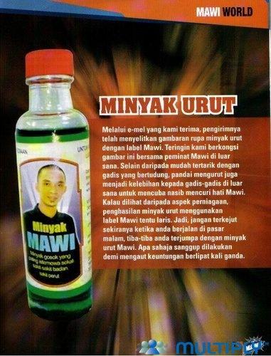 Mawi - Minyak Urut