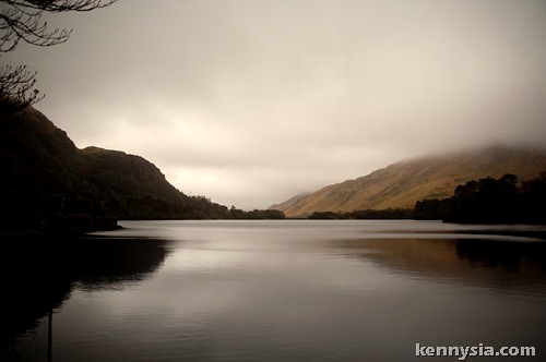 Lake by Kylemore Abbey