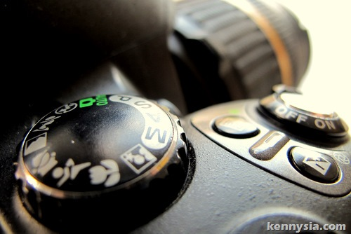 Taken with an SLR